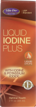 Life-Flo® Liquid Iodine Plus Unflavored 2 fl oz. product image.