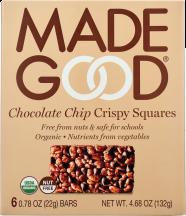 Chocolate Chip Crispy Squares product image.