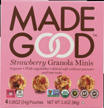 Strawberry Granola Minis product image.