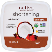 Organic Shortening product image.