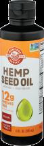 Manitoba Harvest Hemp Oil Unrefined 12 fluid ounce product image.