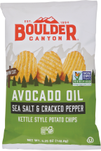 Kettle Cooked Potato Chips product image.