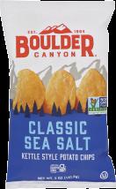 Classic Sea Salt Potato Chips product image.