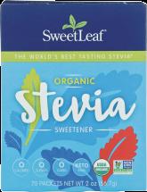 Sweetleaf Stevia Sweetener Organic 70 packet product image.