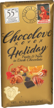 Holiday Fruits & Nuts In Dark Chocolate product image.