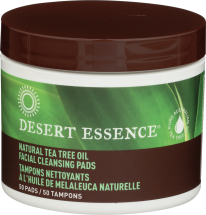 Desert Essence® Face Cleansing Pads 50 pads product image.