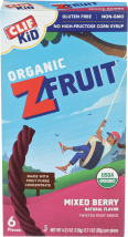 Mixed Berry Fruit Snack product image.