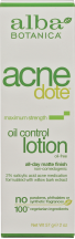 Lotion Acnedote Oil Control product image.