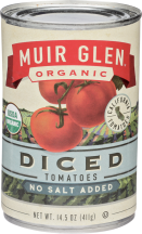 Muir Glen Tomatoes Diced 14.5 oz. product image.