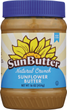 Natural Crunch Sunflower Butter product image.