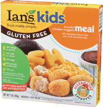 Kids Breaded Chicken Nuggets Meal product image.