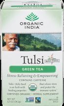 Tulsi Green Tea product image.