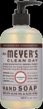 Mrs Meyer's Lavender Hand Soap 12.5 fl oz. product image.