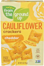 Assorted Cauliflower Snacks product image.