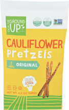 Assorted Cauliflower Snacks product image.