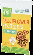 Gluten Free Cauliflower Pretzels product image.