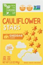 Cheddar Cauliflower Stars product image.