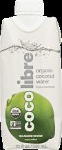 Coco Libre Original Coconut Water Tetra 11 oz product image.