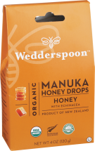 Organic Manuka Honey Drops product image.