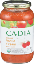 Vodka Cream Pasta Sauce product image.