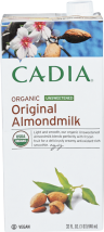Assorted Organic Almond Milk product image.