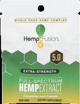 5.0 Hemp Extract product image.