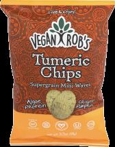 Vegan Rob's Tumeric Chips 3.5 oz. product image.