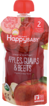 Happy Baby Clearly Crafted Stage 2 Baby Food 4 oz. product image.