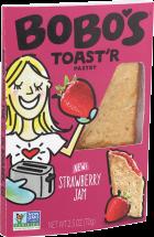Bobo's® Toast'R Pastry Strawberry Jam 2.5 oz product image.