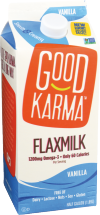 GOOD KARMA FOODS Flaxmilk Vanilla 1.89 l product image.