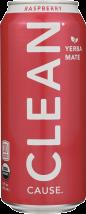 Sparkling Raspberry Yerba Mate product image.