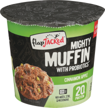 Flap Jacked™ Cinnamon Apple Mighty Muffin 1.94 oz product image.