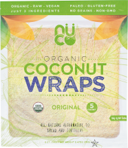 Assorted Coconut Wraps product image.