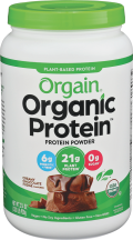 Organic Plant Protein Powder product image.