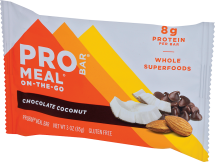 Probar Meal Bar Chocolate Coconut 3 oz product image.