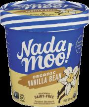 NadaMoo! Vanilla…ahhh Coconut Milk Frozen Dessert 1 pint product image.