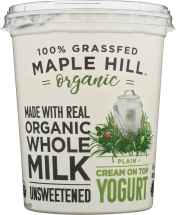 Organic Cream on Top Yogurt product image.