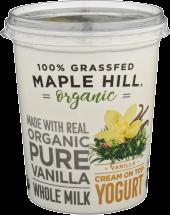 Vanilla Whole Milk Yogurt product image.