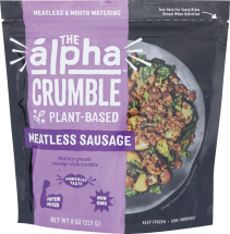 Meatless Sausage Crumble product image.