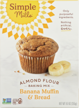 Simple Mills Baking Mix Banana 9 oz product image.