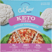 Margherita Pizza product image.