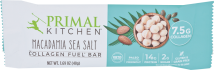 Macadamia Sea Salt Collagen Bar product image.