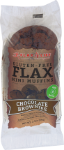 Gluten Free Single Brownie Muffins product image.