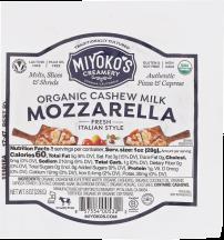 Fresh Vegan Mozzarella  product image.
