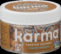 CoconutRoastedCashews product image.