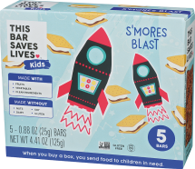 Assorted Kids Snack Bars product image.