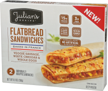 Flatbread Sandwiches product image.