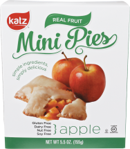 Assorted Varieties Frozen Mini Fruit Pies product image.