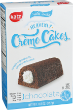 Heavenly Chocolate Crème Cakes product image.