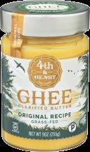 4TH & HEART Ghee Butter Original Recipe 9 oz product image.